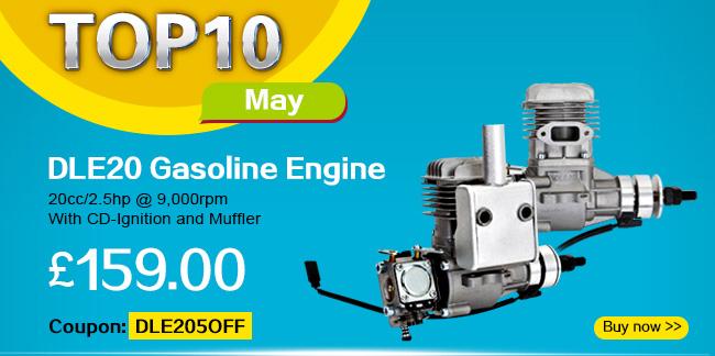 DLE20 gasoline engine coupon promotion
