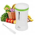 Mbuynow Handheld Spiral Slicer, Uten Kitchen Food Slicer Vegetable Cutter Spaghetti Veggie Zucchini Pasta Noodle Maker with Cleaning Brush