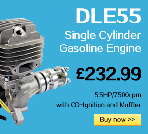 DLE55 Single Cylinder Gasoline Engine