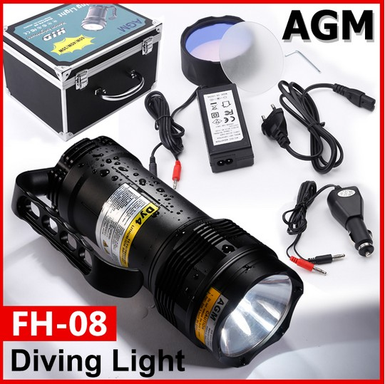 FH-08-HID-diving-light-package