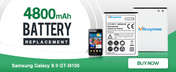 4800mAh Replacement Battery for Samsung Galaxy