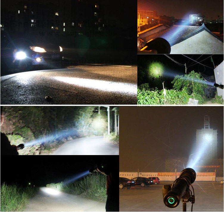 85W HID Flashlight Torch