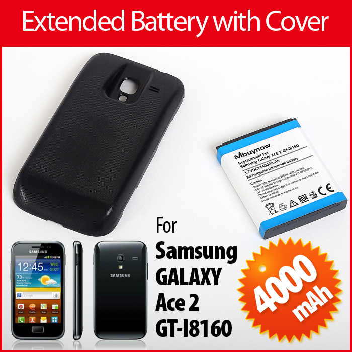 Samsung GT-i8160 Replacement Battery with Cover