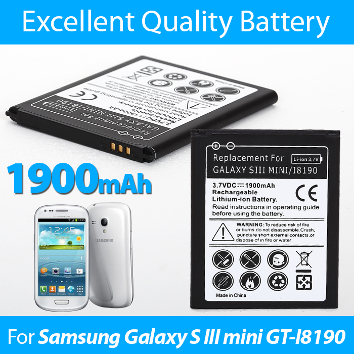 Cellphone Battery for Galaxy S III Mini/I8190