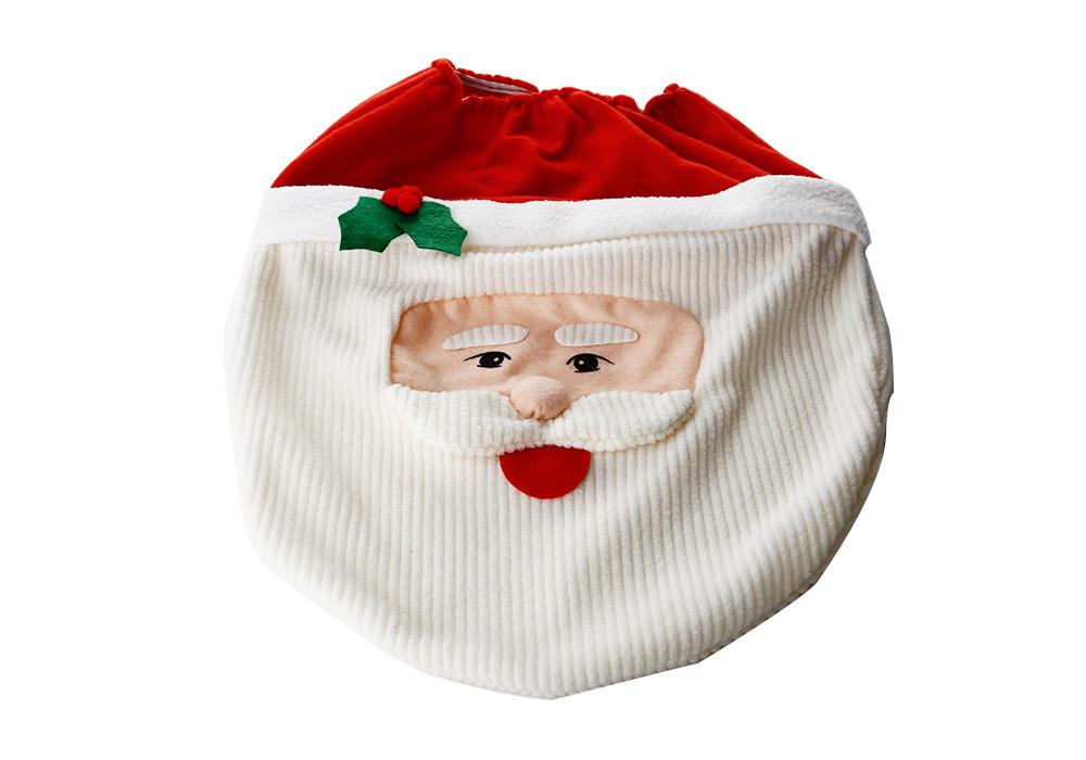 weihnachtsmann toiletten sitz set deckel teppich. Black Bedroom Furniture Sets. Home Design Ideas