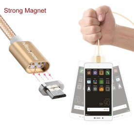 3A Micro USB Magnetic Adapter Charging Cable Charger for Android Samsung LG HTC