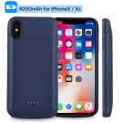 4000mah iPhone X/XS Battery Case Magnetic Power Bank Charger Back Cover