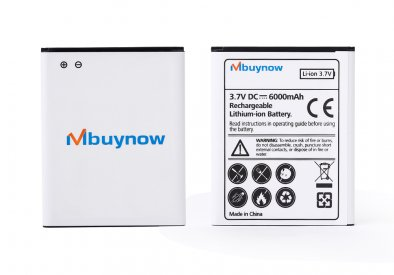 3.7VDC 6000mAh Samsung Galaxy SIII i9300 Battery with White Back Cover