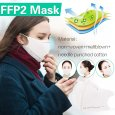 5pcs Mbuynow FFP2 N95 Dust Smog Flu Protection Mask for Unisex Adults UK Stock