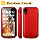 5000mah iPhone XR Battery Case Magnetic Power Bank Charger Back Cover