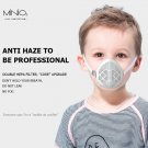 Children Reusable Mouth&Nose Protection Face Mask Breathable Valve W/ 6 Filters M3