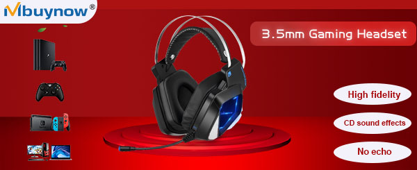 Mbuynow Over-Ear Stereo Gaming Headphones